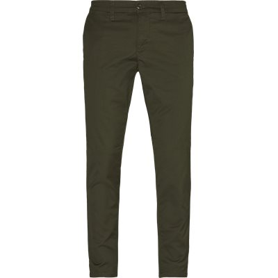 Slim | Trousers | Green